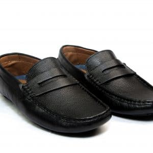 Black Penny Loafers Shoes