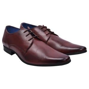 Pointed Brown Formal Shoes